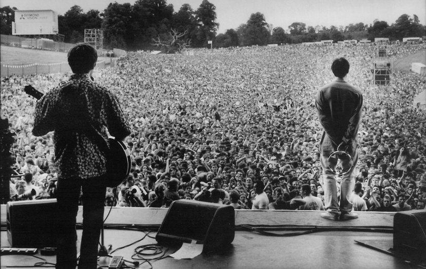 Oasis en concierto