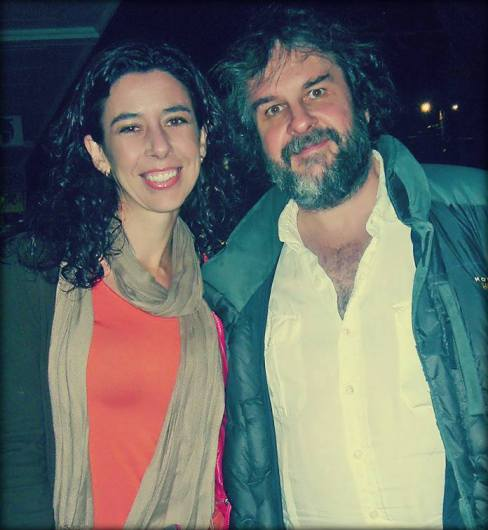 Carolina Jiménez García y Peter Jackson