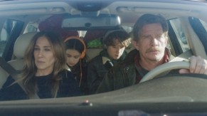 Sarah Jessica Parker y Thomas Haden Church en DIVORCE (HBO).