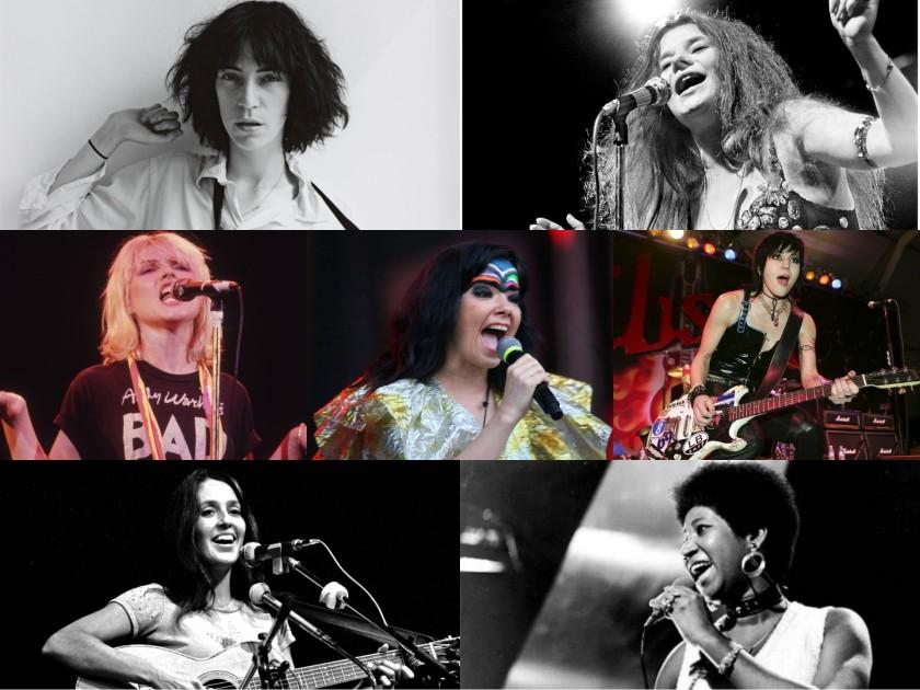 Mujeres destacada música