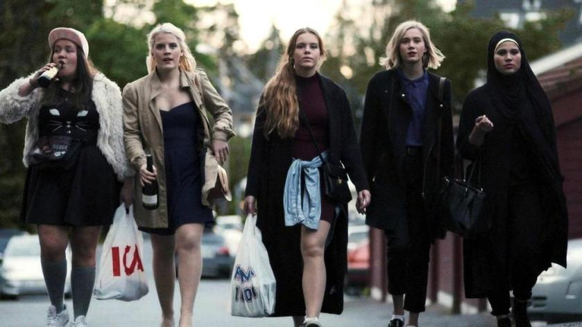 Skam-Girls-Squad-Chris-Vilde-Eva-Noora-Sana-Temporada-1