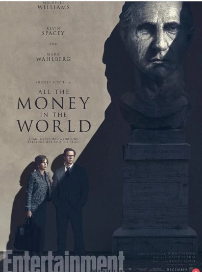 Poster antiguo de 'All The Money In The World'