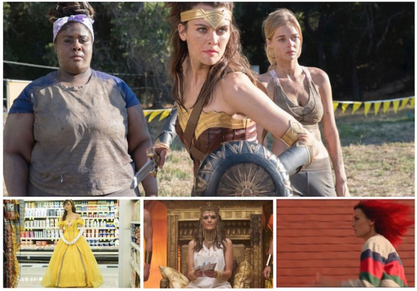 SMILF-Showtime-Frankie-Shaw-Wonder-woman-run-lola-run-Bridgette-Bird