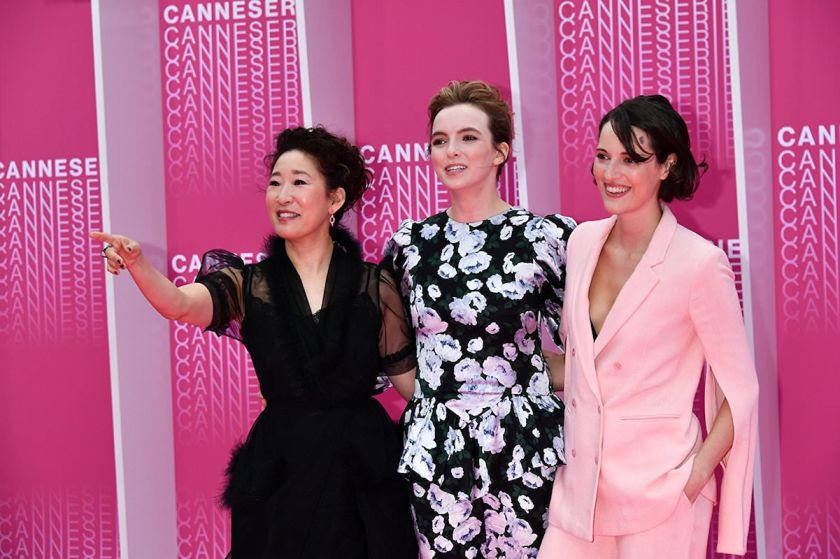 Killing-Eve-Sandra-Oh-Jodie-Jomer-Phoebe-Waller-Bridge-Canneseries-2018
