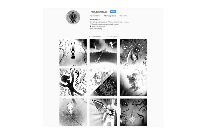 Transmedia-skam-españa-movistar-perfil-instagram-TLP-borderline