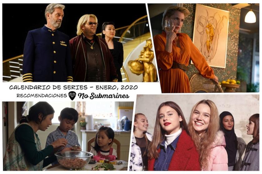 Series recomendadas, enero 2020 | Calendario de estrenos y regresos de series