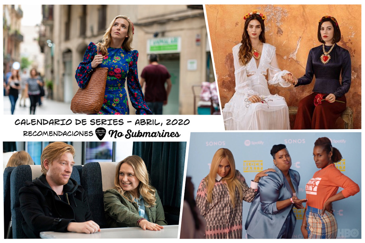 Series recomendadas abril 2020 | Calendario de estrenos y regresos de series