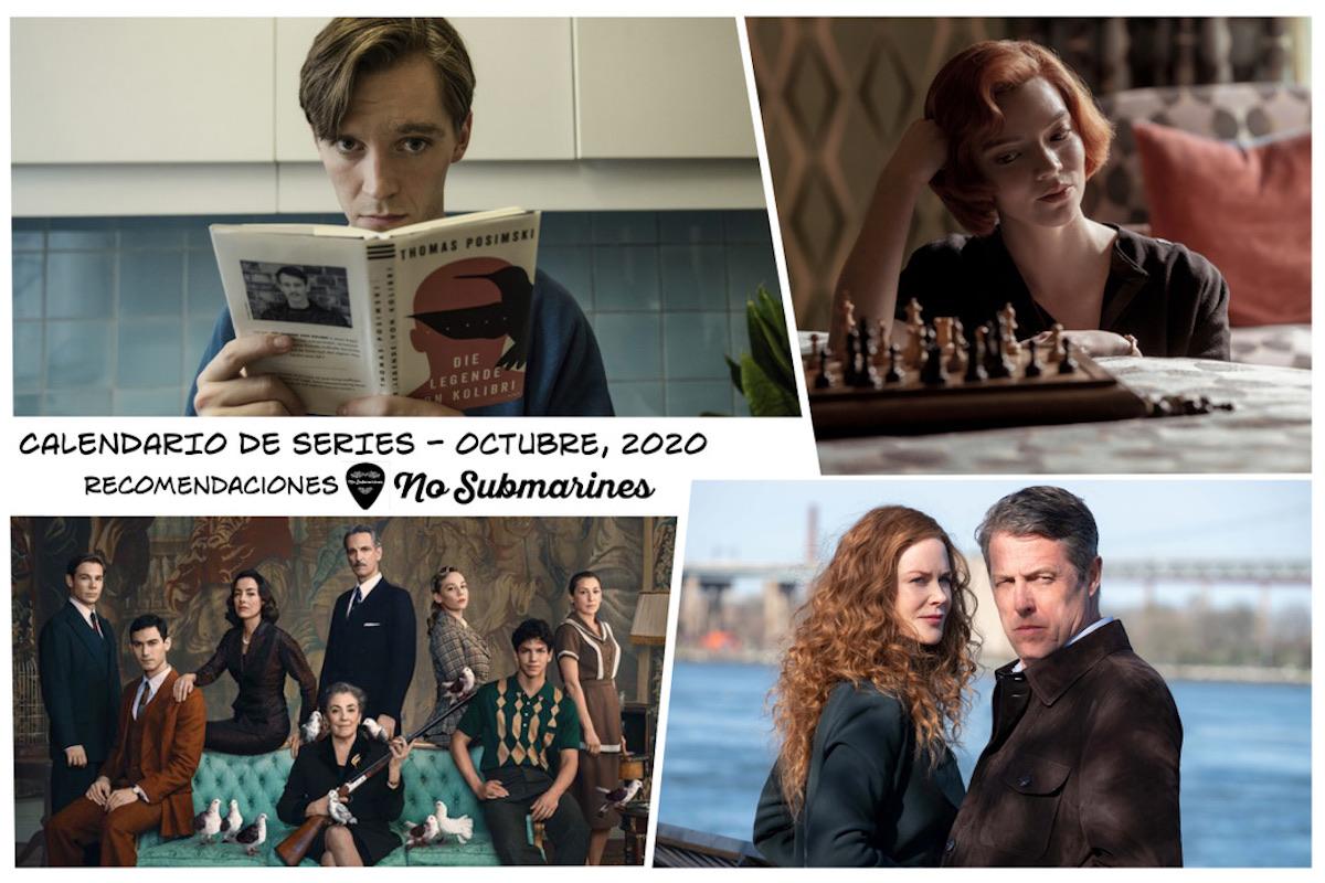 Series recomendadas octubre 2020 | Calendario de estrenos y regresos de series