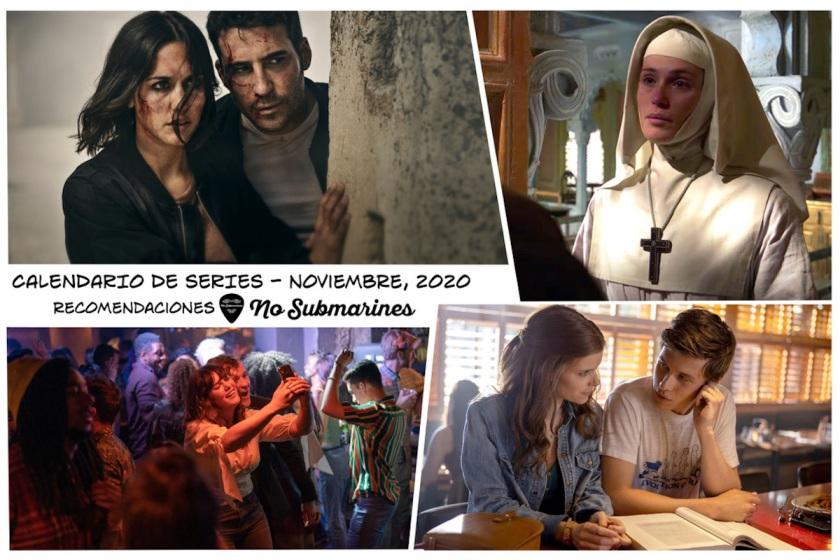 Series recomendadas noviembre 2020 | Calendario de estrenos y regresos de series