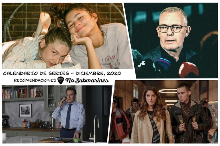 Series recomendadas diciembre 2020 | Calendario de estrenos y regresos de series