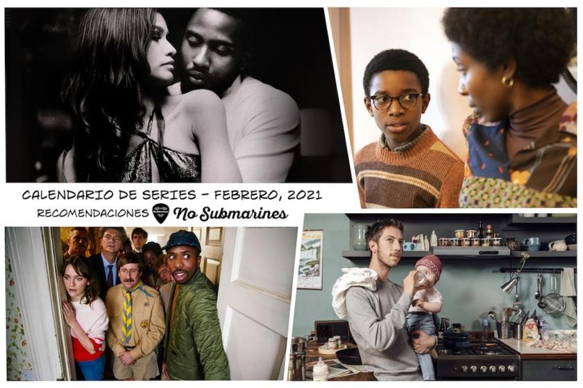 Series recomendadas febrero 2021 | Calendario de estrenos y regresos de series