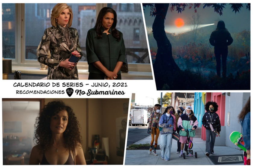 Series y películas recomendadas en plataformas junio 2021 | Calendario de estrenos y regresos
